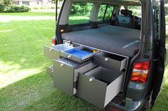 MAC Box Camper / Camping Box in volkswagen T5