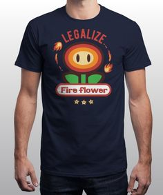 """Legalize it"" is today's £9/€11/$12 tee for 24 hours only on www.Qwertee.com Pin this for a chance to win a FREE TEE this weekend. Follow us on pinterest.com/qwertee for a second! Thanks:)"