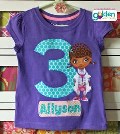 Best Doc McStuffins birthday tee by *golden