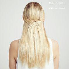 Rose Gold Hair Comb by Jen Atkins www.chloeandisabel.com/boutique/angeliquemc