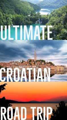 The ultimate Croatian road trip for your trip to Croatia!