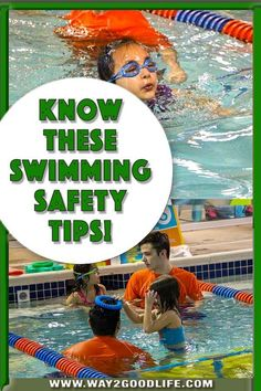 These Swimming Safety Tips are not just for kids - they are for the parents too. Learn them now to enjoy your summer to the fullest