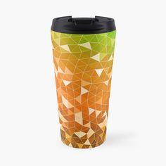 'abstract triangles' Travel Mug by Travel Mug, Bottles, My Arts, Art Prints, Mugs, Abstract, Printed, Tableware, Awesome