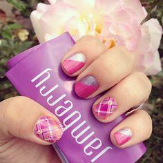 Prissy Plaid & Pretty in Pink http://nailsinharmony.jamberry.com