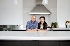 Music legend Mark Lizotte's warehouse conversion with a Caesarstone kitchen