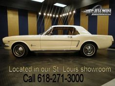 Sweet eye candy; 1964 Ford Mustang-17043794 - Ford - Classic Cars for sale from the 1960's - InternetClassicCars.com