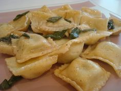Ravioli with Brown Butter and Sage |  NY Food Journal