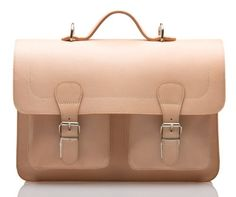 UBERBAG WINDSOR NATURAL VEG TAN LEATHER SATCHEL/BRIEFCASE/BACKPACK: Amazon.co.uk: Shoes & Accessories