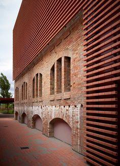 Recupero della exFornace di Riccione, Riccione, 2014 - Pietro Carlo Pellegrini Architetto #warehouse