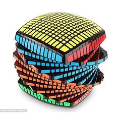 """This 13x13x13 """"speed"""" cube.   23 Products For The Genius In Your Life"""