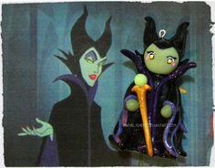 Chibi Charms: Maleficent by Marielishere.deviantart.com on @deviantART