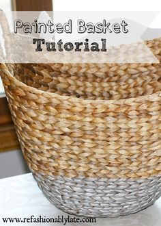 Painted Basket Tutor