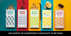 Freebie Friday: £50 Worth of Superfood Chocolate to be Won!