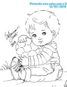 Vintage Embroidery, Embroidery Patterns, Sewing Patterns, Coloring Books, Coloring Pages, Baby Time, Baby Quilts, Needlework, Scrapbook
