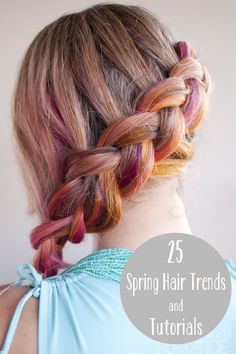 Lovely spring colored braid!