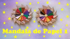 MANDALA DE PAPEL 1 - DOBRADURA