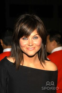 tiffani amber thiessen hairstyles   Related Pictures tiffani thiessen with a trendy ponytail hairstyle