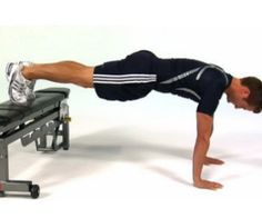 How To Do Bench Push Ups