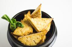 marinated baked tofu | boardsandknives.com