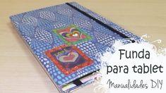 Manualidades DIY: funda para tablet con cartón || La Casita de Gominolas