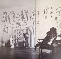 Studio of Matisse Painters Studio, Post Impressionism, Love Illustration, Ap Art, Paintings I Love, Art For Art Sake, Henri Matisse, Print Pictures, Art Studios