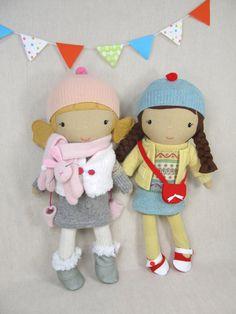 Studio Doll - Heike. Handmade, Doll, Eco Friendly, Plush, Toy, Children, Gift