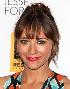 "Rashida Jones's ""Celeste and Jesse Forever"" Makeup Look. And just take a peep at those eyes!"