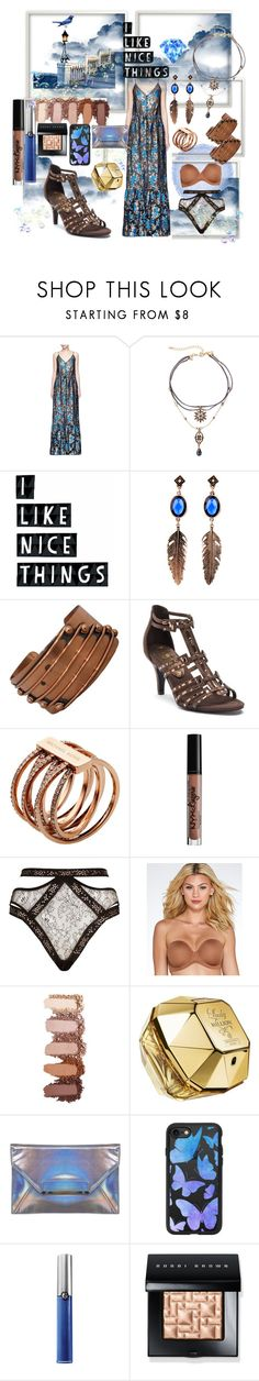 """""""NICE"""" by aliceridler ❤ liked on Polyvore featuring Lanvin, WithChic, Seventy Tree, Renoir, New York Transit, Michael Kors, NYX, Agent Provocateur, Wacoal and Paco Rabanne"""
