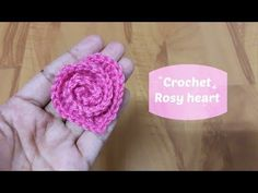 How to Crochet a Rosy Heart - Design Peak