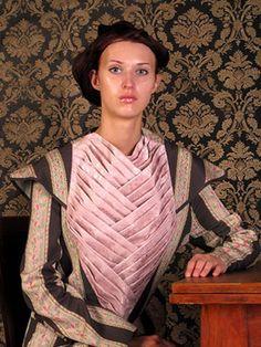 "Modeconnect.com features work from Omsk ""Fashion Formula: East – West competition. Olga Ivanova  &  Lida Chugunova– 2004"