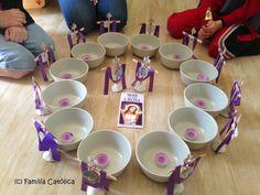 Familia Católica: Rezo de las Estaciones de la Cruz con velas 2014