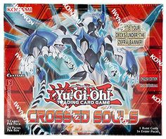 Collectible Trading Card Cases - YuGiOh Crossed Souls Booster Box Sealed * You can get more details by clicking on the image.