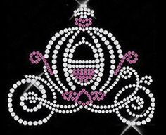 Beautiful Cinderella Carriage Rhinestone Motif Design Photo, Detailed about Beautiful Cinderella Carriage Rhinestone Motif Design Picture on...