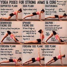 , on Core Poses · · · Some basic core poses (yoga) strengthen both your core and your arms and also keep your thighs moving so you can tra. , on core postures · · · Some basic core postures (yoga) to strengthen . Ashtanga Yoga, Yoga Bewegungen, Vinyasa Yoga, Yoga Flow, Yoga Meditation, Yoga Tank, Core Yoga Poses, Yoga Moves, Yoga Sequences