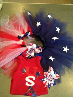 Proud to be an American Tutu Set by GoodyTu2s on Etsy, $55.00
