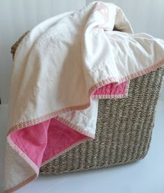 FREE shipping to Canada and the US!  Modern Wholecloth Applique Baby Quilt by AgnesEllen, $105.00