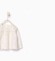 ZARA - ENFANTS - Chemise style romantique 12,95