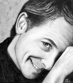 Michael J. Fox in graphite