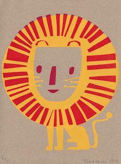 Rhona Garvin, illustrator Animal Graphic, Graphic Art, Bad Drawings, Mundo Animal, Children's Book Illustration, Cat Art, Art Lessons, Art Paintings, Screen Printing