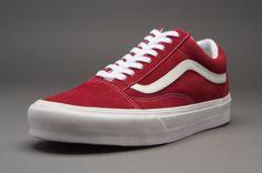 Vans Old Skool - Mens Select Footwear - (Vintage) Rio Red