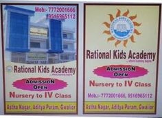 Rational kids Academy Addmission open 2071-18 - Gwalior - free classified ads