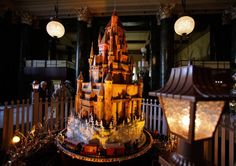 'm not sure what it is about gingerbread houses, but if you are into them, it seems like you REALLY get into them. And if you add a layer of book-obsession on top of that, well…..look what happens.    1. Hogwarts