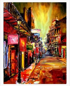 Artist Diane Millsap brings New Orleans to life with her vibrant oil paintings and comments about New Orleans culture and music.