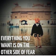 """""""To many of us are not living our dreams because we are living our fears."""" Les Brown (Image quote Jack Canfield) (pic by unknown. let us know!)"""