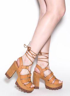 Style Evolution Lug Heels