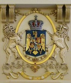 Museums under the spotlight - The Royal Palace in Bucharest Zoe Bell, Romanian Royal Family, Warrior Tattoos, Royal Palace, Family Crest, Royal House, Kaiser, Bucharest, Fireplace Design