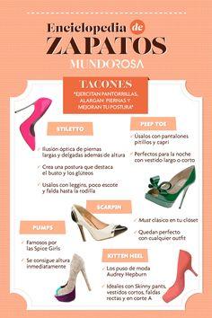 Enciclopedia de zapatos presenta: tacones.