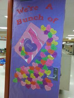 Valentines day door Classroom door ideas Valentine's Day Door Decoration Ideas