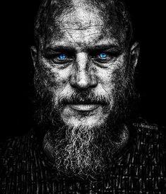 Image may contain: 1 person, beard Ragnar Lothbrok Vikings, Ragnar Lothbrook, Lagertha, Art Viking, Viking Symbols, Viking Warrior, Vikings Tv Series, Vikings Tv Show, Viking Pictures