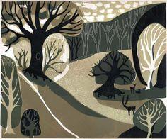 Melvyn Evans. Linocut Prints